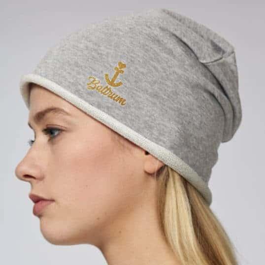 NORDIG Mütze Baltrum grau