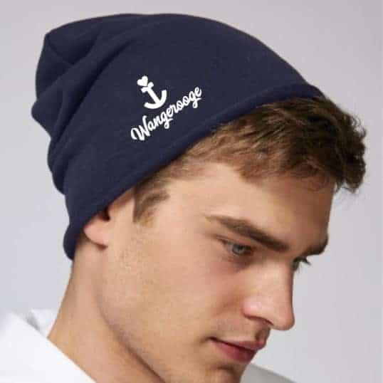 NORDIG Mütze Wangerooge blau